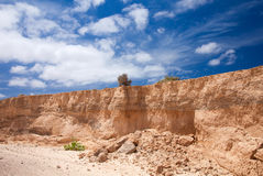 Inland Northern Fuerteventura Royalty Free Stock Photos