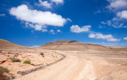 Inland Northern Fuerteventura Stock Photography