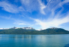 Inland passage of Alaska Royalty Free Stock Image