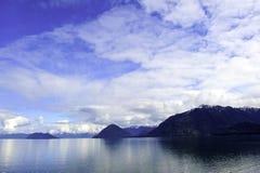 Inland Passage Near Juneau, Alaska Stock Images