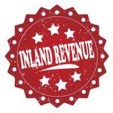 Inland revenue grunge stamp Stock Images
