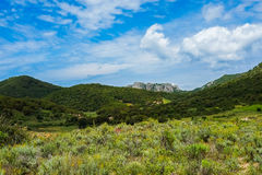 Inland Sardinia Stock Photography