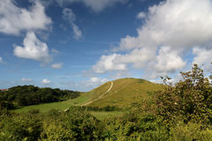 Inland scenery at Lulworth Cove Royalty Free Stock Photos