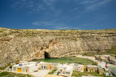 Inland sea, Malta. Tourist attraction Royalty Free Stock Photography
