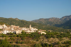 Inlands- Costa Blanca Arkivbilder