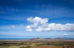 Inlands- Fuerteventura Arkivbilder