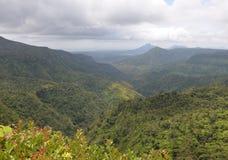 Inlands- landskap av Mauritius Royaltyfria Bilder
