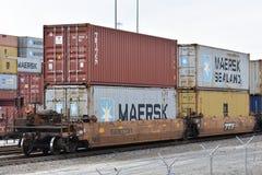 Inlands- port av södra Carolina Ports Authority arkivbilder