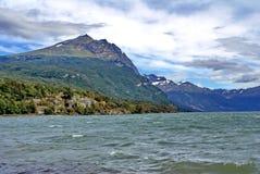 Inlands- sjö i fena del Mundo Parkera Fotografering för Bildbyråer