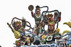 Inlay πορσελάνης Chaozhou τέχνη Στοκ Εικόνα