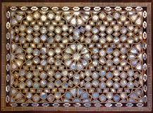 Mother of Pearl Mosaic from Istanbul Royalty Free Stock Photography