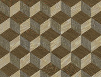 Inlay wooden pattern fine texture Royalty Free Stock Photography
