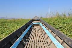 Inle在缅甸的湖视图看法  图库摄影