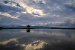 Inle湖,掸邦,缅甸,缅甸 库存图片