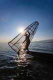 inle λίμνη Myanmar Στοκ φωτογραφία με δικαίωμα ελεύθερης χρήσης