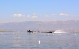 Inle jezioro Zdjęcie Stock