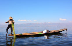 Inle jezioro Obrazy Stock