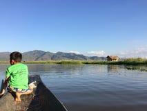 Inle jezioro Fotografia Stock