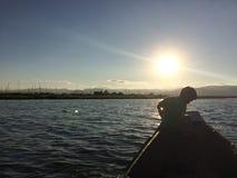 Inle jezioro Zdjęcia Stock