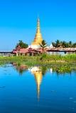 inle jezioro Myanmar Zdjęcie Stock