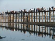 inle jezioro Myanmar Zdjęcia Stock
