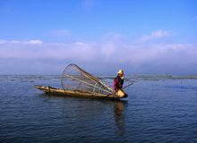 Inle Lake #1 Royalty Free Stock Images
