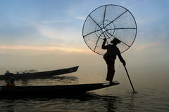Inle lake Royalty Free Stock Photo