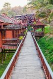Inle lake hotels Royalty Free Stock Images