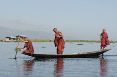 Inle Lake Life 1 Royalty Free Stock Photography
