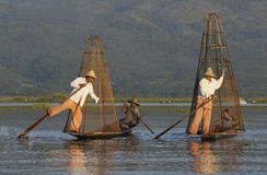 Inle Lake Life 3 Stock Image