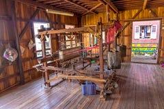 Inle Lake loom stock image