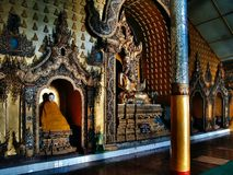 Inle Lake - Main Paya temple, Burma Malaysia.  Stock Photo