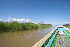 Inle lake, Myanmar Royalty Free Stock Photography