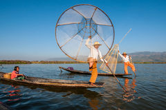 Inle lake, Myanmar Royalty Free Stock Photos
