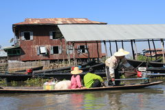Inle Lake in Myanmar Stock Images