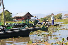 Inle Lake in Myanmar Stock Photography