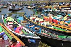 Inle Lake in Myanmar Royalty Free Stock Photos