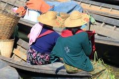 Inle Lake in Myanmar Royalty Free Stock Images