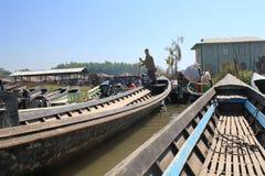 Inle Lake in Myanmar Royalty Free Stock Image