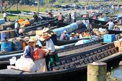 Inle Lake in Myanmar Stock Photos