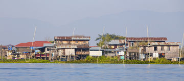 Inle Lake, Myanmar. Royalty Free Stock Photo