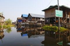 Inle Lake in Myanmar Stock Images