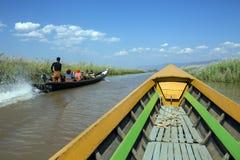 Inle Lake - Shan State - Myanmar (Burma) Royalty Free Stock Images