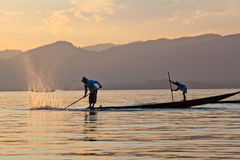 Inle Lake in Shan State, Myanmar Royalty Free Stock Photo