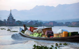 Inle lake in Shan state, Myanmar Stock Photography