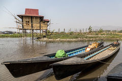 Inle lake shan state Myanmar Royalty Free Stock Photos