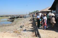Inle Lake view in Myanmar Royalty Free Stock Photo
