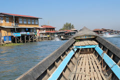 Inle Lake view in Myanmar Stock Images