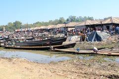 Inle Lake view in Myanmar Stock Photos