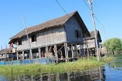 Inle Lake view in Myanmar Stock Image